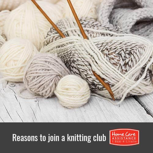 Why Your Senior Loved One Should Join a Knitting Club in Jefferson Co, CO