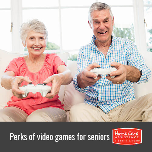 5 Ways Video Games Benefit Senior Health in Jefferson Co, CO