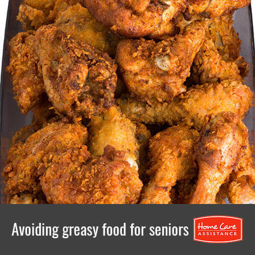 Seniors should Avoid Eating Fast and Oily Food in Summers