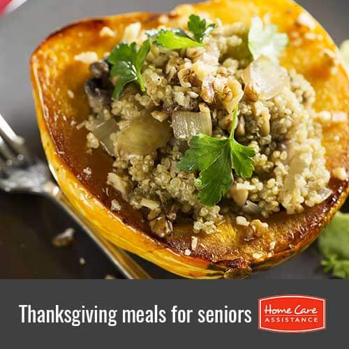 Thanksgiving Meals That Are Healthy for the Elderly in Jefferson County, CO