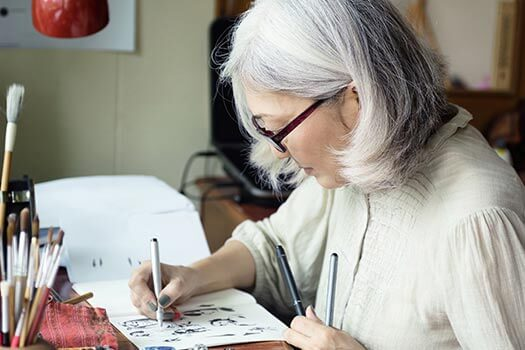 Amazing Illustrators in Their Golden Years in Jefferson, CO