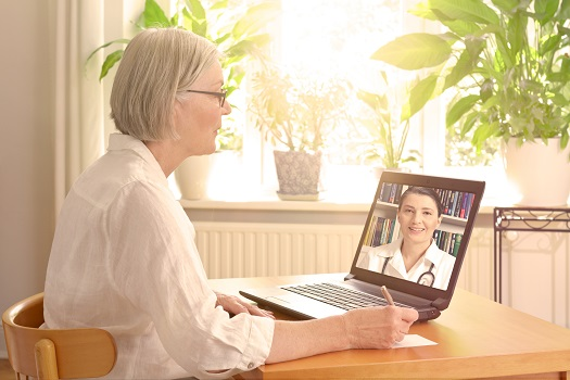 Helping Your Elderly Parent Use Telemedicine in Jefferson County, CO